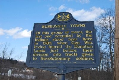 Kuskuskies Towns Marker image. Click for full size.