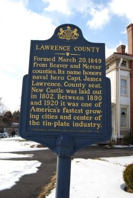 Lawrence County Marker image. Click for full size.
