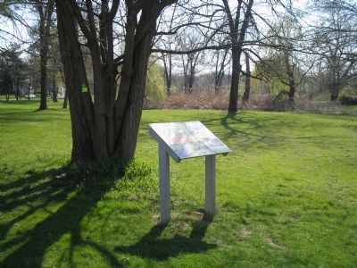Marker in Brett Park Photo, Click for full size