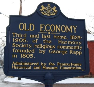 Old Economy Marker image. Click for full size.