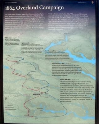 Cold Harbor Marker (center panel) image. Click for full size.