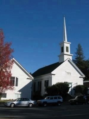 Sutter Creek United Methodist Church image. Click for full size.
