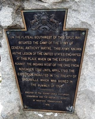 Legion of the United States Encampment Marker image. Click for full size.