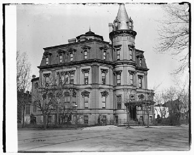 William Morris Stewart Mansion - Washington D.C. image. Click for full size.