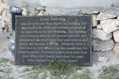 Grant Building Marker image. Click for full size.