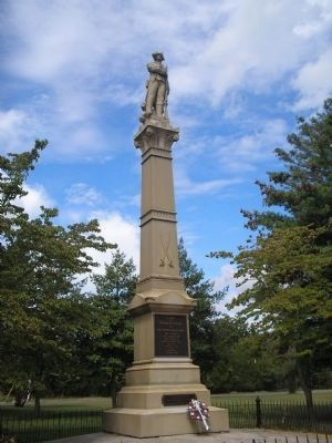 Battle of Chestnut Neck Monument Photo, Click for full size