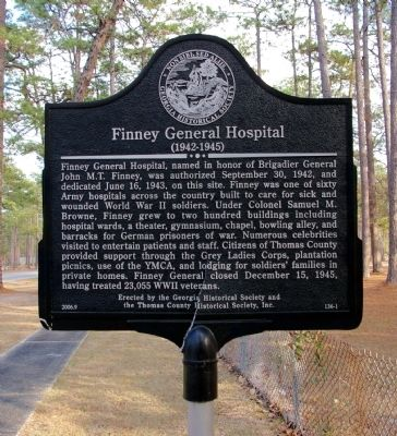 Finney General Hospital Marker Photo, Click for full size