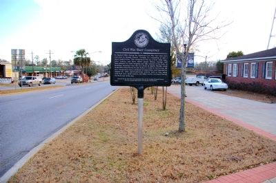 Civil War Slave Conspiracy Marker Photo, Click for full size