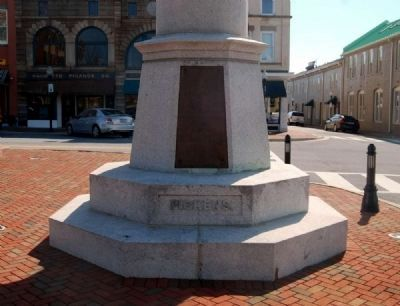 Daniel Morgan Monument -<br>Pickens Side Photo, Click for full size