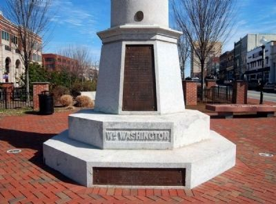 Daniel Morgan Monument -<br>William Washington Side Photo, Click for full size