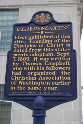 """Declaration & Address"" Marker image. Click for full size."