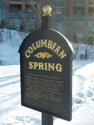 Columbia Spring Marker image. Click for full size.