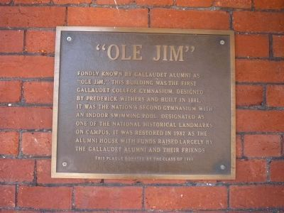 """Ole Jim"" Marker Panel 1 Photo, Click for full size"