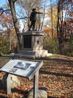 Gen. Greene at Culp's Hill Marker image. Click for full size.