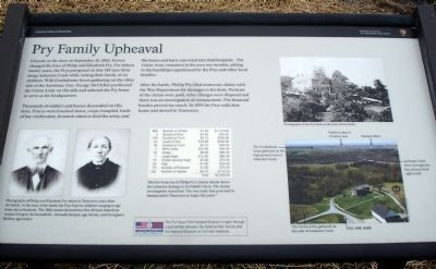 Pry Family Upheaval Marker image. Click for full size.