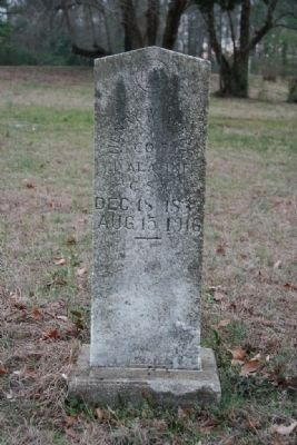 Civil War Veteran Gravesite. image. Click for full size.