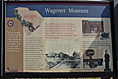 Wagener Museum Marker image. Click for full size.
