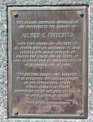 Arthur S. Fairchild Marker Photo, Click for full size
