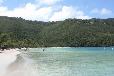 Magens Bay Beach, looking southwest Photo, Click for full size