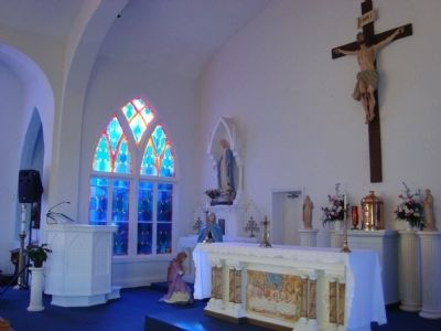 Interior of St. Anthony of Padua Catholic Church (Altar) image. Click for full size.