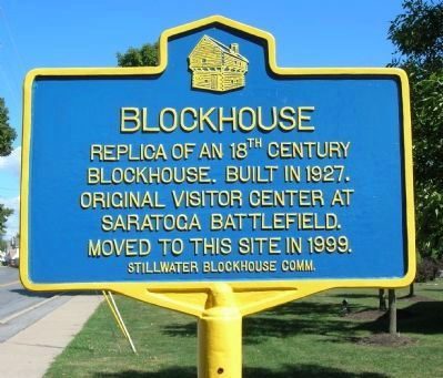 Stillwater Blockhouse Marker image. Click for full size.