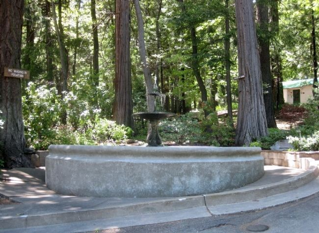 The Alexander Dunsmuir Fountain and Marker image. Click for full size.