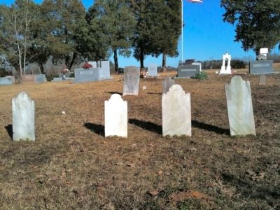 John McClary and His Three Wives' Graves image. Click for full size.