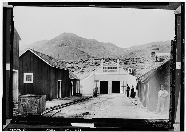 Entrance to the Sutro Tunnel