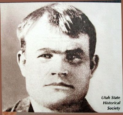 Photo of Butch Cassidy on Marker Photo, Click for full size