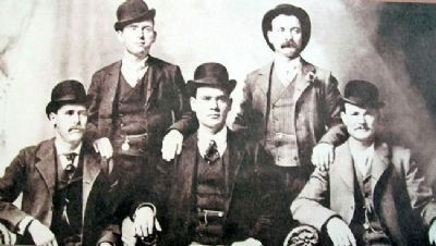 Photo on Butch Cassidy Marker Photo, Click for full size