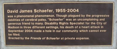 David James Schaefer Marker Photo, Click for full size