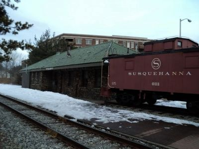 Pompton Lakes Train Station image. Click for full size.