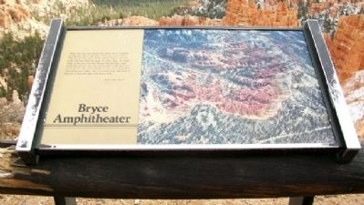 Bryce Amphitheater Marker image. Click for full size.