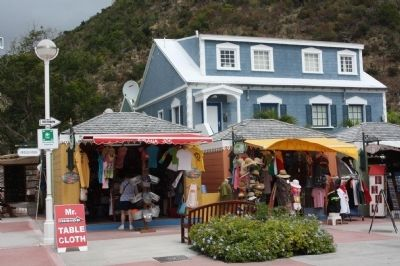 St. Maarten Gingerbread Market Stalls image. Click for full size.