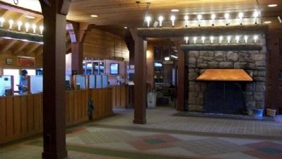 Bryce Canyon Lodge Lobby image. Click for full size.