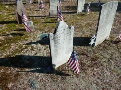 Gravesite of Revolutionary War Veteran Thomas Clark image. Click for full size.