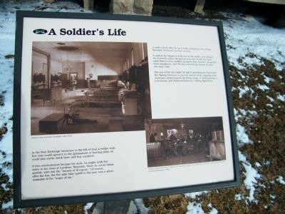 A Soldier's Life Marker image. Click for full size.