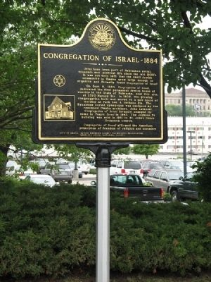 Congregation of Israel Marker image. Click for full size.