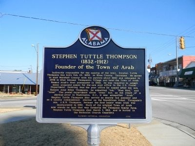 Stephen Tuttle Thompson Marker image. Click for full size.