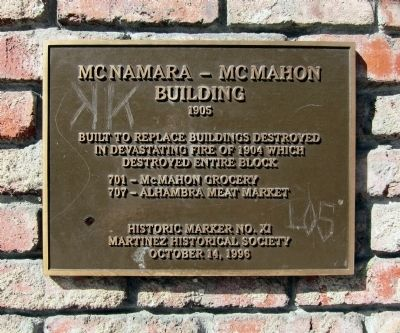 Mcnamara-McMahon Building Marker image. Click for full size.
