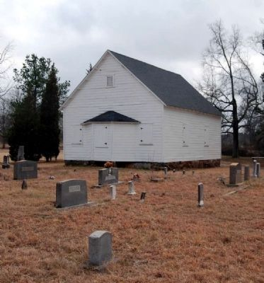 Shiloh Methodist Church and Cemetery image. Click for full size.