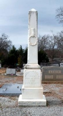 Malcolm Erwin Tombstone image. Click for full size.