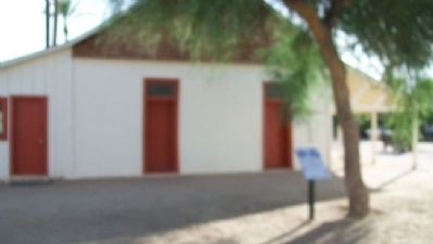 Adobe House and Marker image. Click for full size.