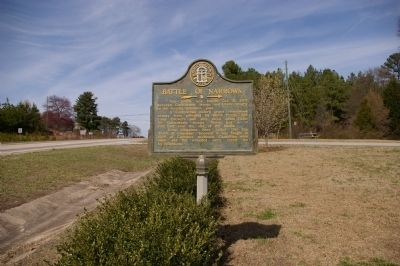 Battle of Narrows Marker image. Click for full size.