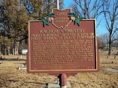 Wagnor Cemetery Marker image. Click for full size.