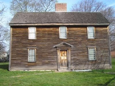 Birth House of President John Adams image. Click for full size.