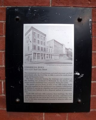 Commercial Block Marker image. Click for full size.