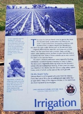Irrigation Marker Photo, Click for full size