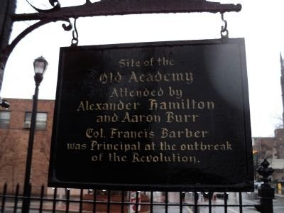 Old Academy Marker image. Click for full size.