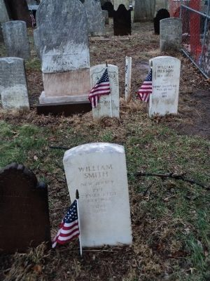 Patriotic Dead in Presbyterian Church Cemetary image. Click for full size.